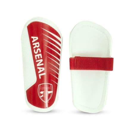 Arsenal Slip In Football Shin Guards Official Merchandise Team - Youths